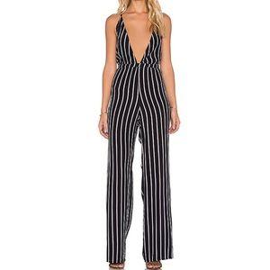 Faithfull the Brand stripe jumpsuit